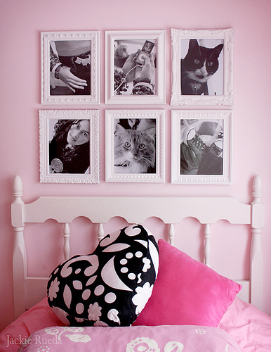 bedroom, cat, decor, home, pink