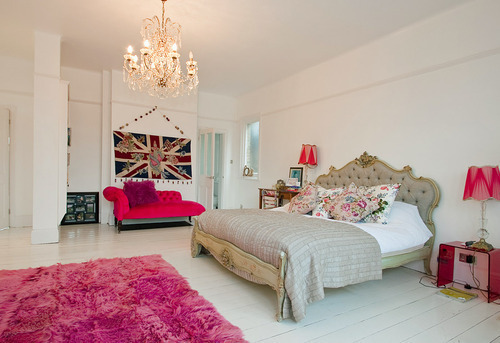 bedroom, decor, home, luxury, pink