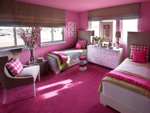 bedrooom, home decor, luxury, pink