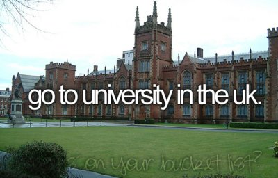 before i die, bucketlist, london, university