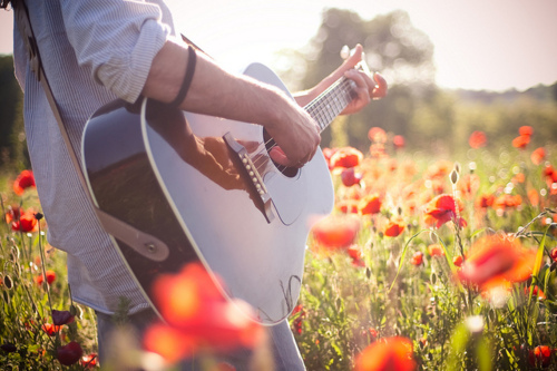 better, girl, guitar, music, place