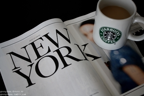 beutiful, coffe, coffee, cute, drink, food, magazine, new yorknew york, photography, starbuck