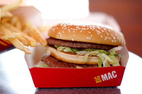 big mac, food, fried, maccas, mcdonalds, yum