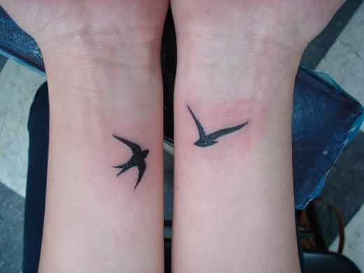bird, cute, tattoo