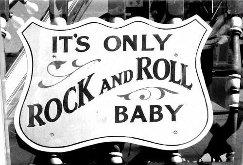black & white, photography, rock & roll, vintage