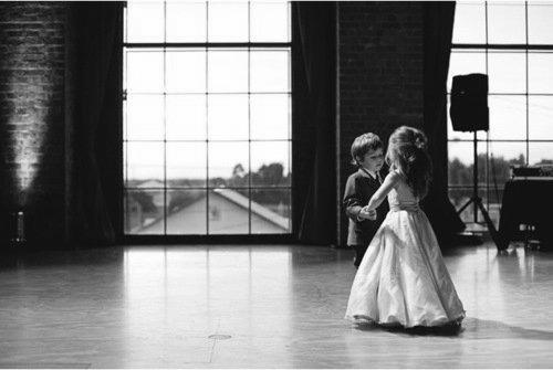 black and white, boy, cute, dance, friends, girl, kid, love, photography