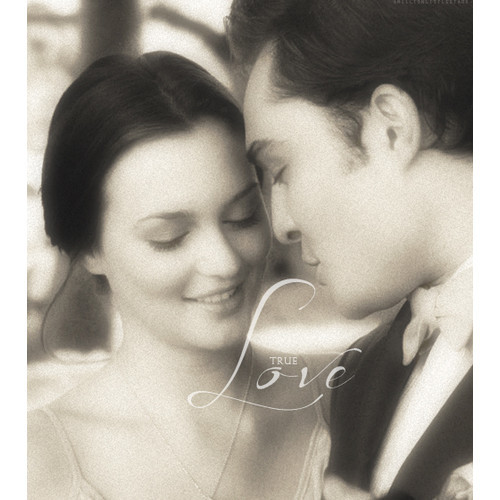 black and white, chuck and blair, chuck bass, gossip girl, true love