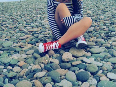 black and white, convers, cute, friendship, girl, love, red