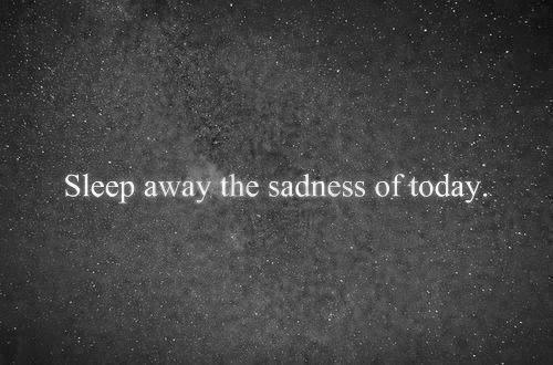 black and white, galaxy, quote, sadness, sleep