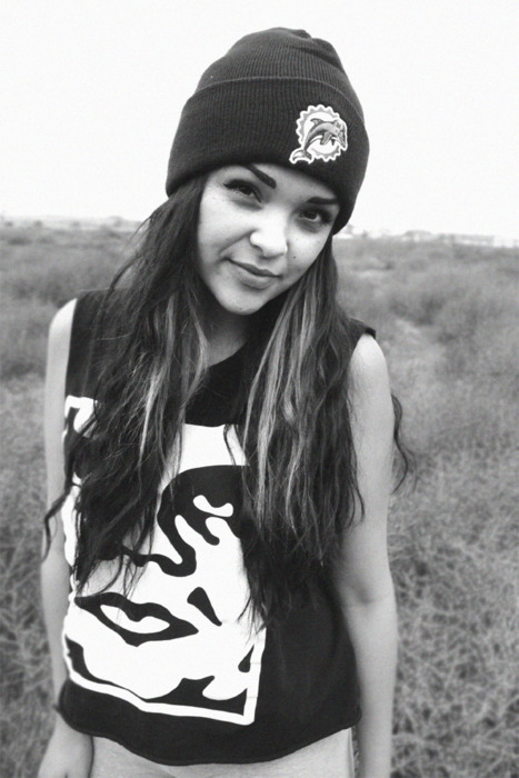 black and white, girl, hair, hat, pretty