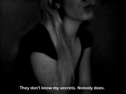 black, black & white, black and white, black white, dark, girl, grey, nobody, photo, photography, pic, picture, quote, quoted, secret, secrets, text, white
