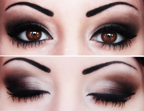black, brown eyes, cher lloyd, colors, eyes