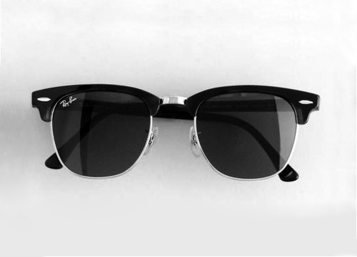 black, fashion, feminina, glasses, photography, rayban, style, white