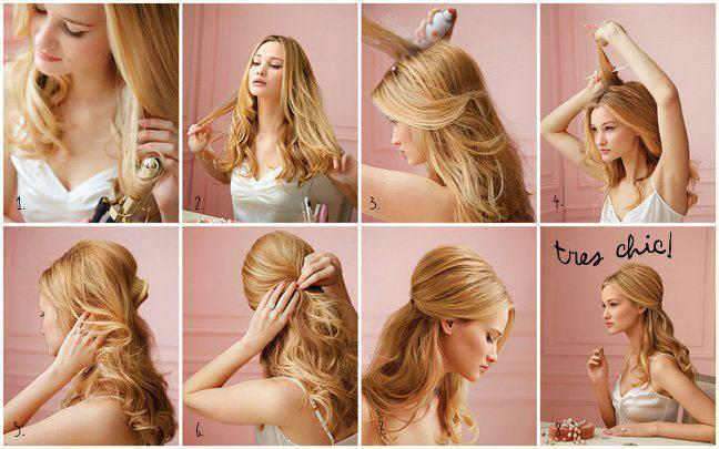 blond, hair, tutorial