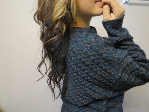 blonde, brunette, girl, hair, pretty, sweater