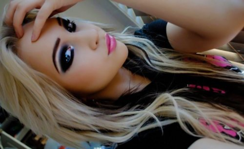 blonde, feminina, girls, gorgeous, makes, makeup