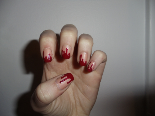 blood, blood dripping, darcy breen, darcybreen, drip, dripping, dripping blood, nail, nail art, nails, red, vampire