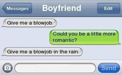 blowjob, boy, boyfriend, couple, quote, rain, romantic