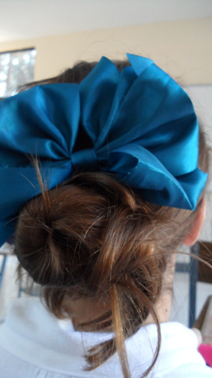 blue, bow, bows, colors, cute, girl, girly, hair, photography