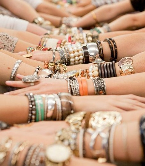 blue, bracelets, california, colorful, fashion