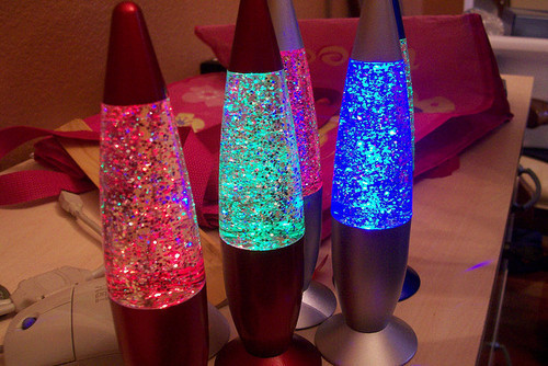 blue, colors, cool, glitter, green, lamp, lava, lava lamp, light, photography, red, sparkles
