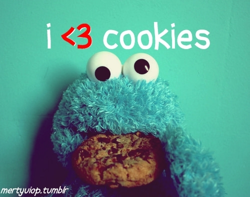 blue, cookies, cute, moster cookies