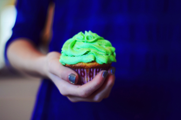 blue, cupcake, cupcakes, cute, food