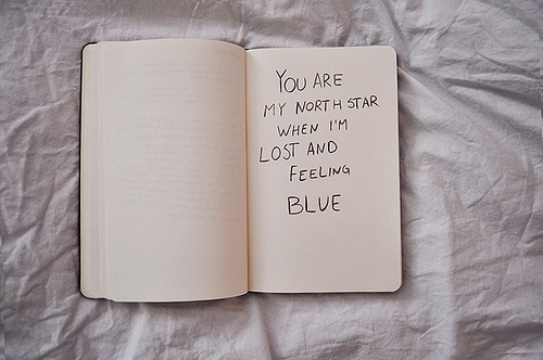 blue, cute, lost, quotes, star