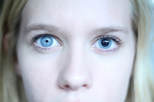 blue, dialation, dilate, eyes, girl
