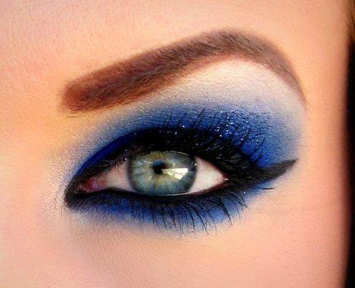 blue, eye, eyeshadow, make up