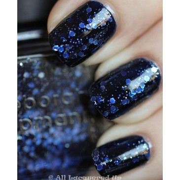 blue, fashion, nail polish, nails, purple