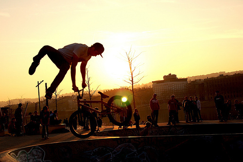 bmx, boy, graffiti, people, photography