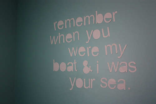boat, cute, inspirational, room, sea, text, you me at six