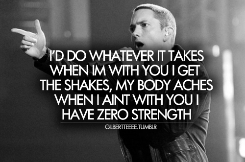body, eminem, love, lyrics, quote