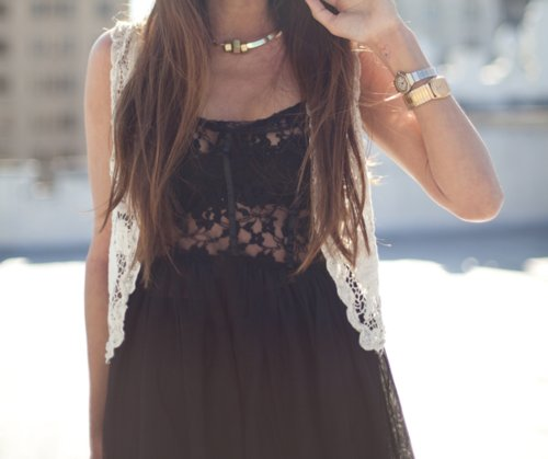 bohemian, brunette, fashion, girl, long hair
