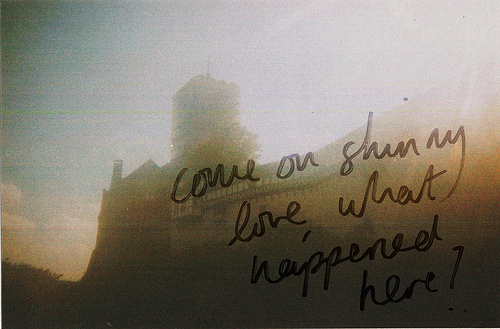 bon iver, disposable, indie, photography, quote, skinny love, text