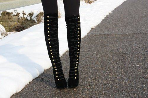 boots, fashion, louboutin, miu miu, pretty