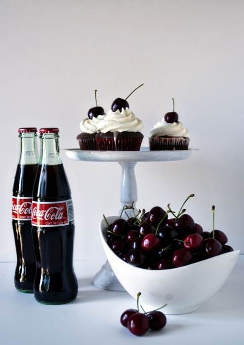 bottle, bottles, cherries, cherry, coca-cola