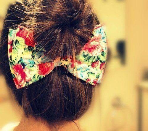 bow, color, cute, fashion, hair, pretty, ribbon