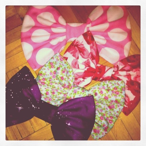 bows, fashion, floral, flowers, galaxies, hair bows, nebula, polka dots, space, starry eyed bowtique