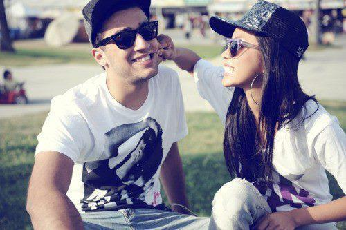 boy and girl, cute, laugh, love, photography, smile, sweet