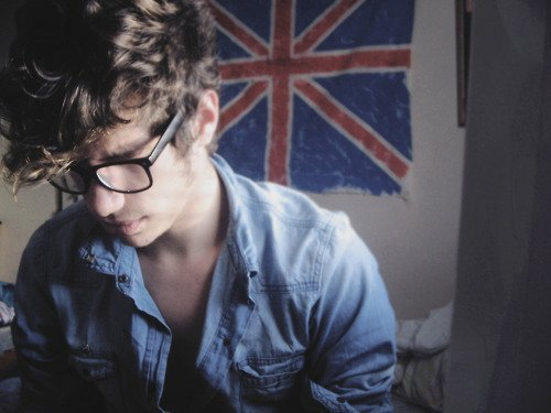 boy, british, cute, glasses