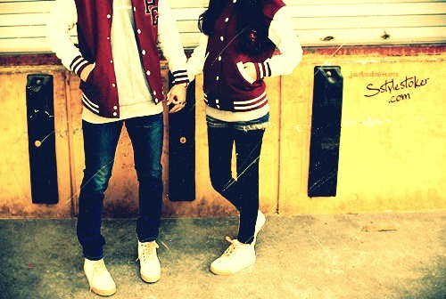 boy, couple, kiss, love, ulzzang couple