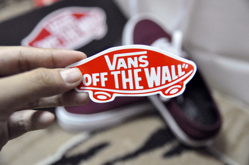 boy, girl, off the wall, shoes, vans