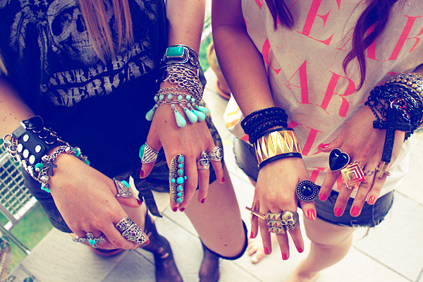 bracelets, girls , jewlery, rings, turquoise