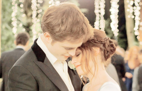 breaking dawn, couple, cute, kristen stewart, love