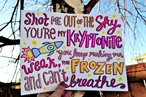 breathe, frozen, kryptonite, one direction, one thing