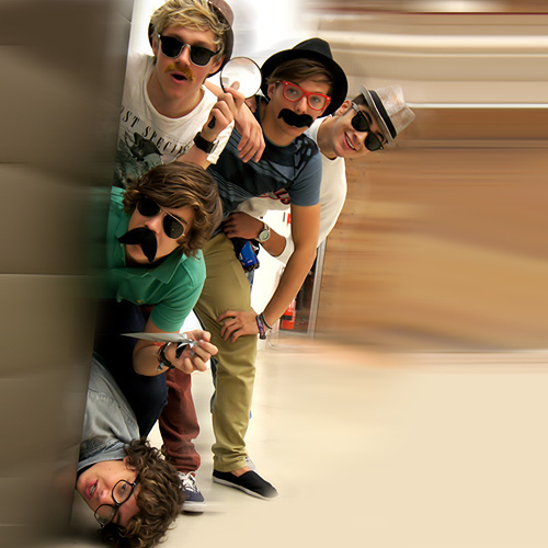 britt, harry, liam, louis, niall