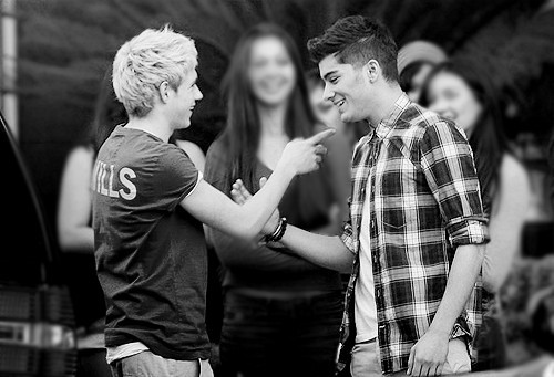 bromance, cute, niall horan, one direction, zayn malik - image ...