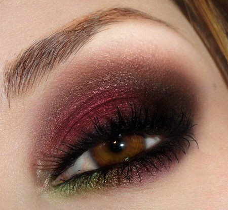 brown eyes, color, eyes, eyeshadow, girl